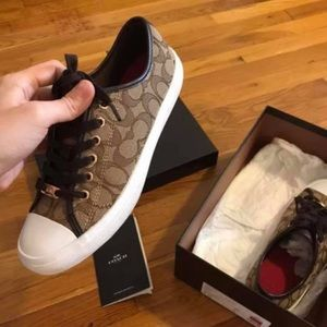 Coach sneakers new in box